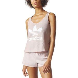 Adidas Originals Trefoil Loose Textured Tank Top